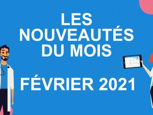 Les nouveautés du mois – février 2021